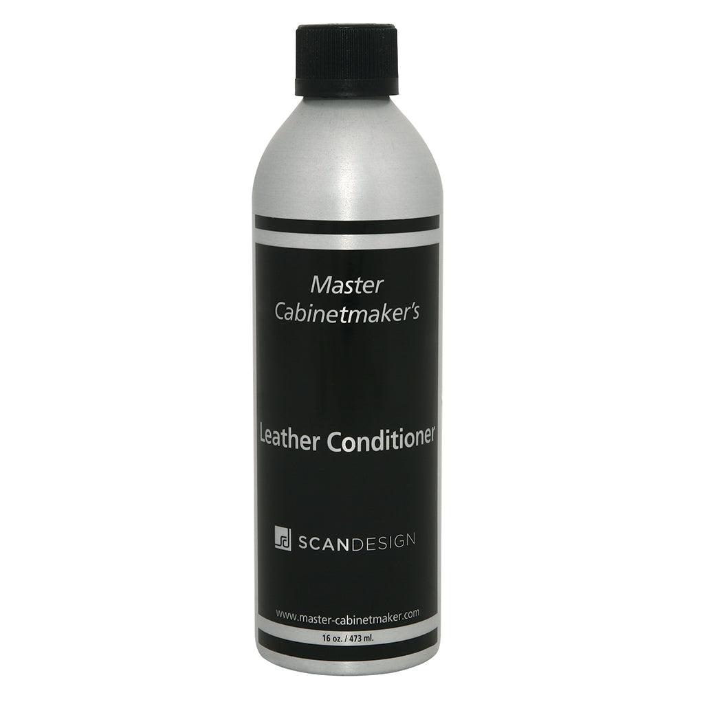 bottle of leather conditioner