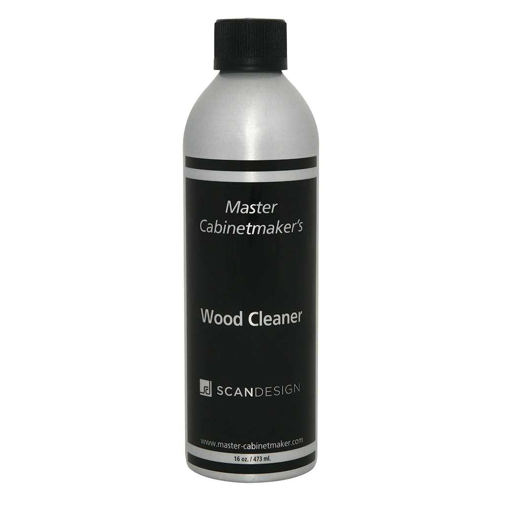 bottle of wood cleaner