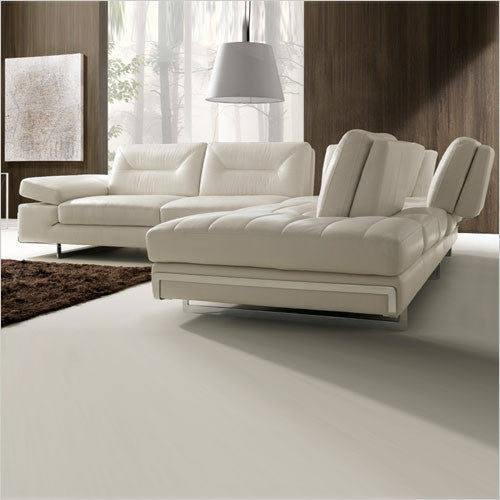 Stallone Adjustable Sectional Motion Backs Leather