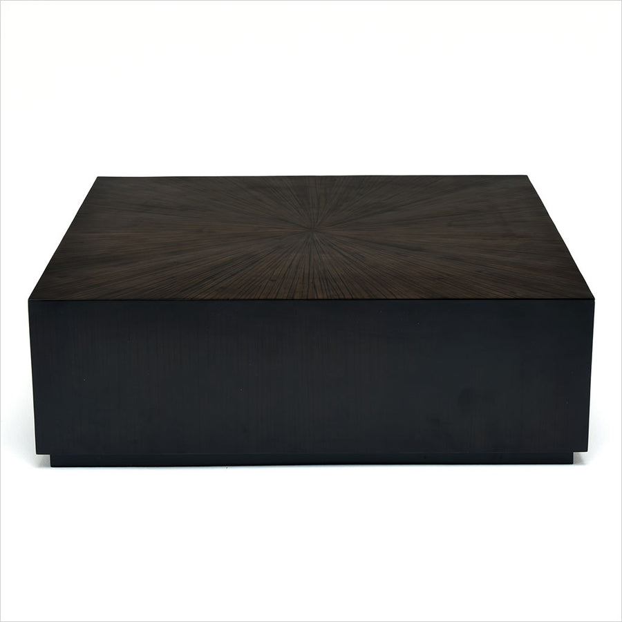 square bamboo coffee table