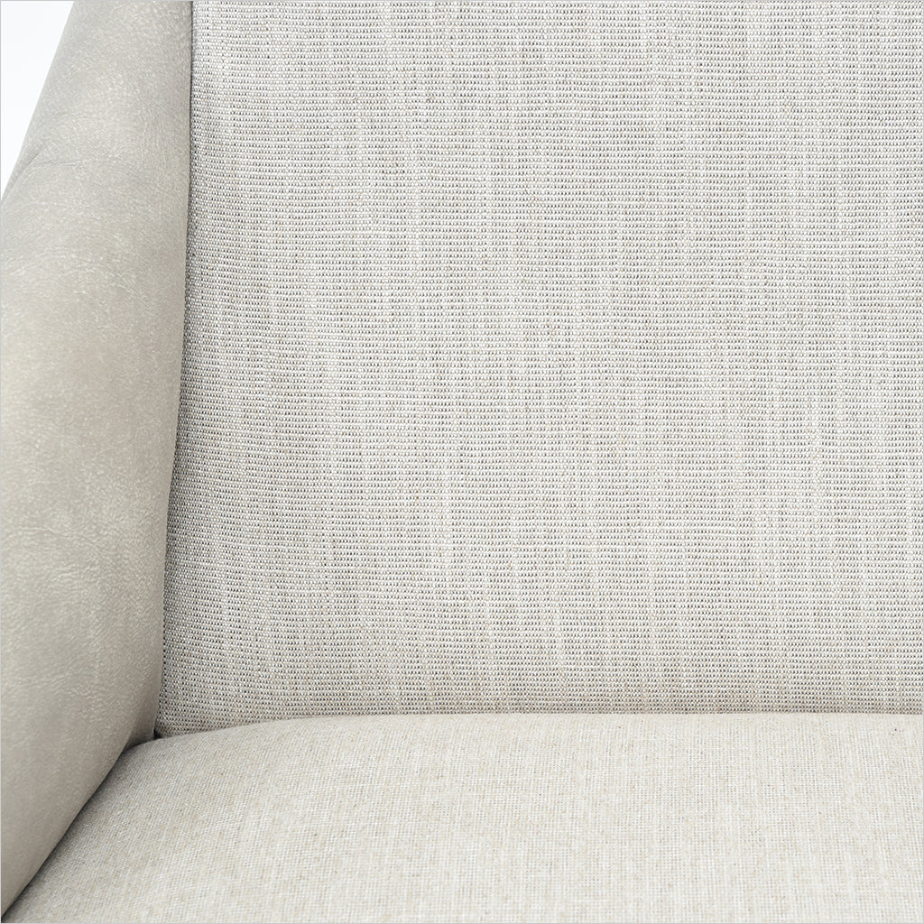 upholstered accent chair with arms