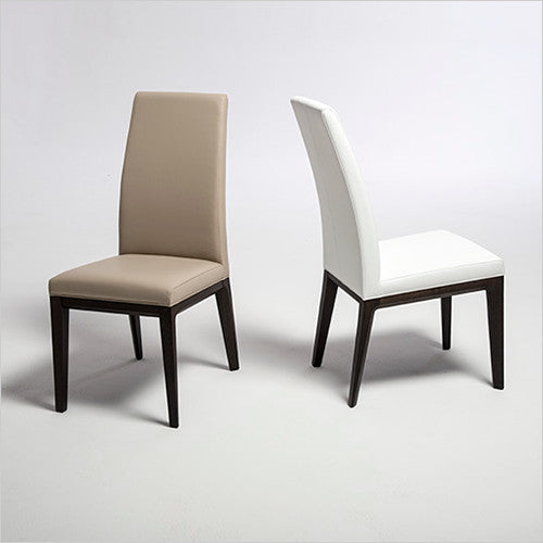 High Quality Remi Dining Chair   Italian Made In White Leather   Scan Design | Modern U0026  Contemporary Furniture Store