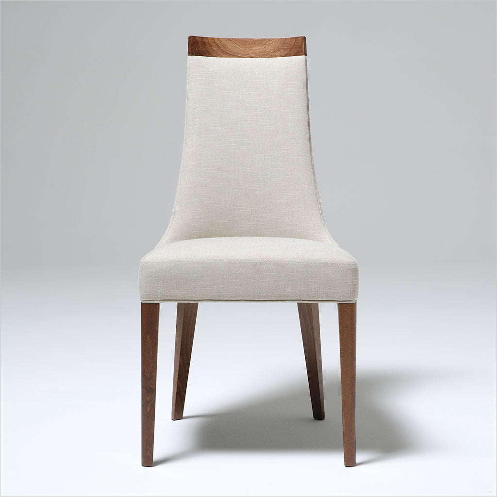 dining chair with wood legs