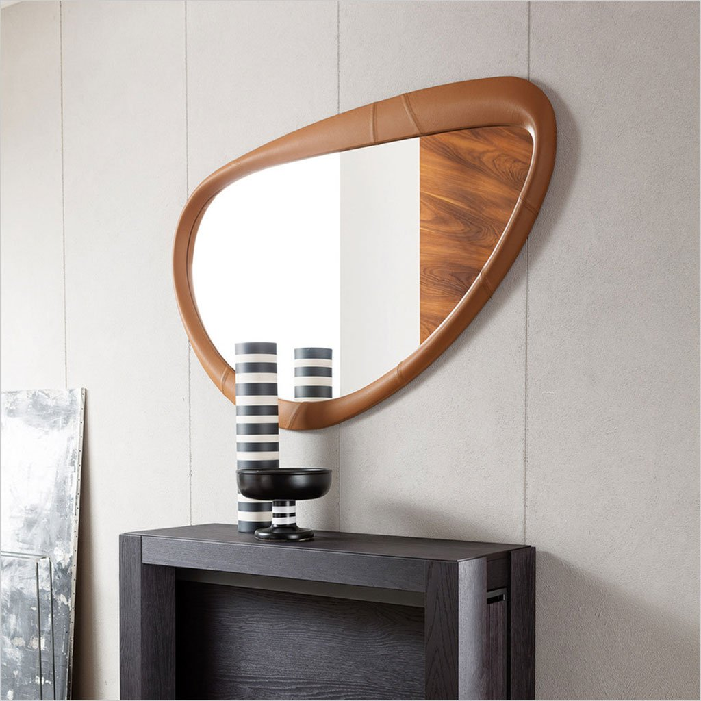abstract wall mirror