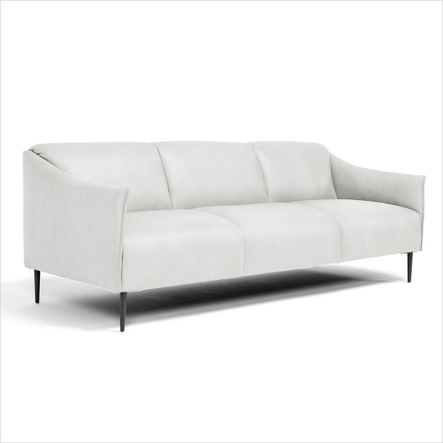 3-seat leather sofa
