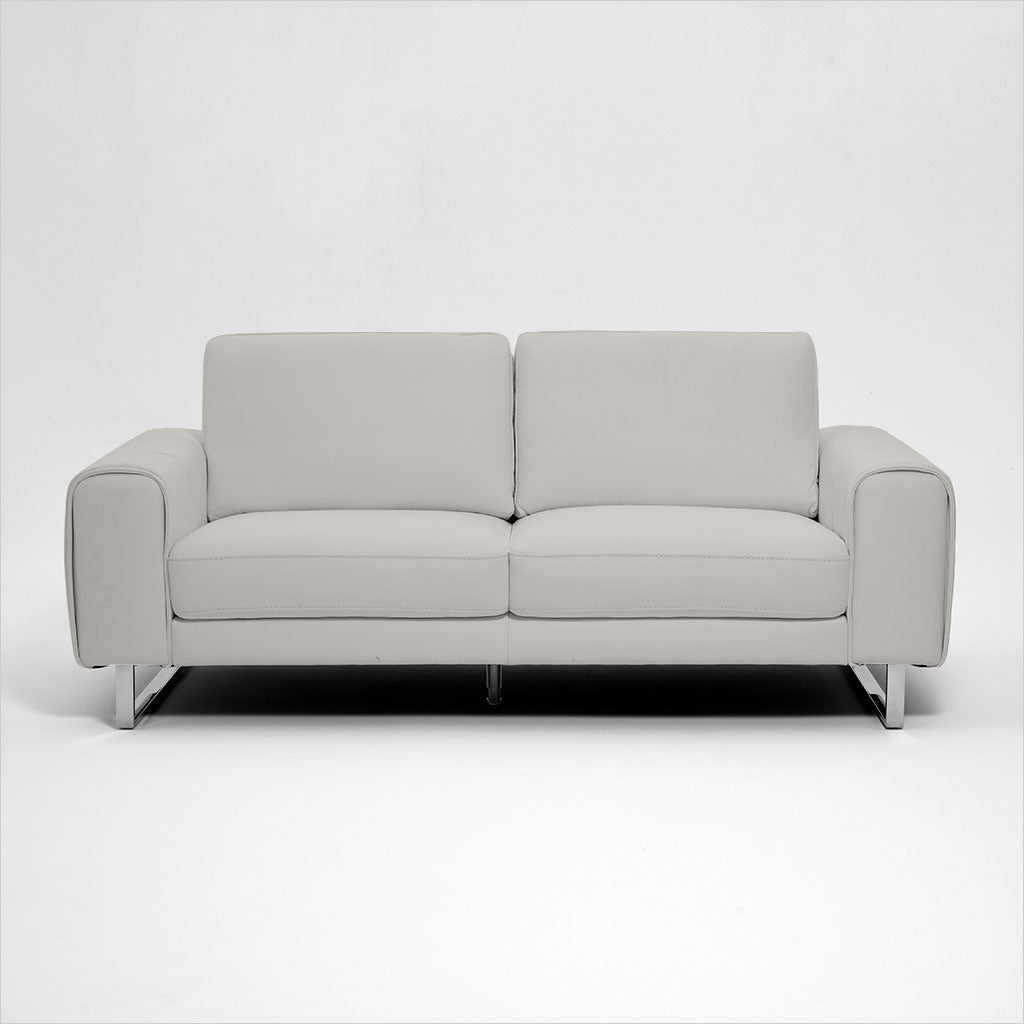 2-seat leather loveseat
