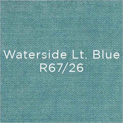 light blue fabric swatch