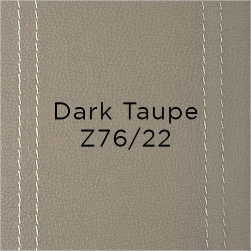 dark taupe leather swatch