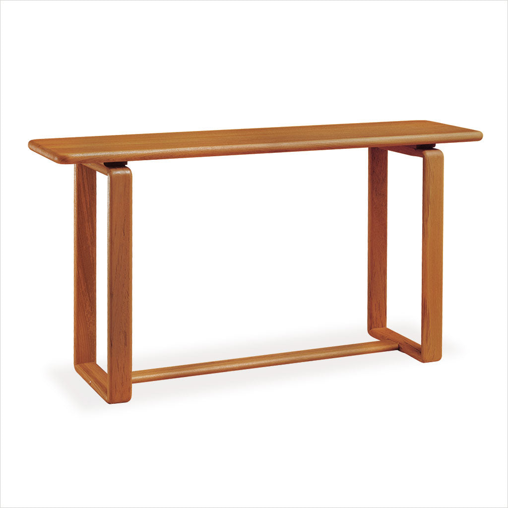 Picture of: 6055 Teak Console Table Scan Design Modern And Contemporary Furniture Store