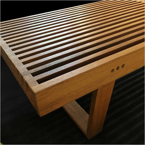 7001 Teak Bench Scan Design Modern Amp Contemporary