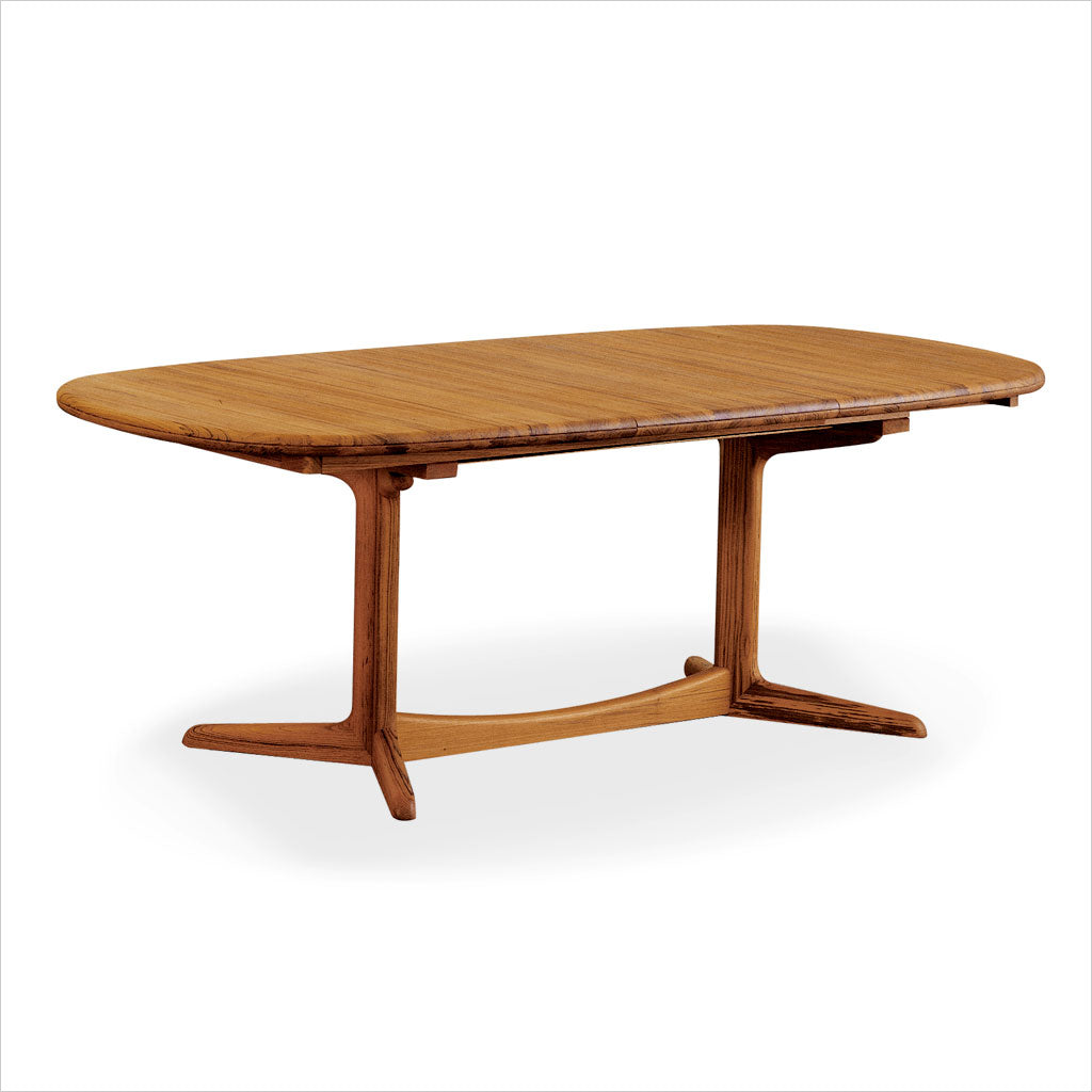 teak dining table with leaves