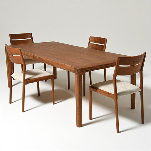 walnut dining table with leaf