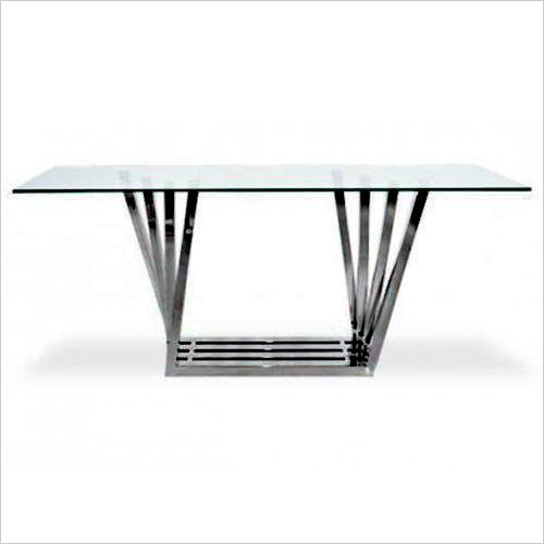 gun metal dining table base