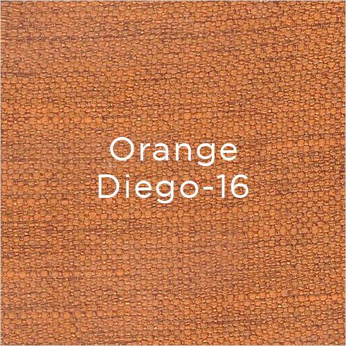 orange fabric swatch