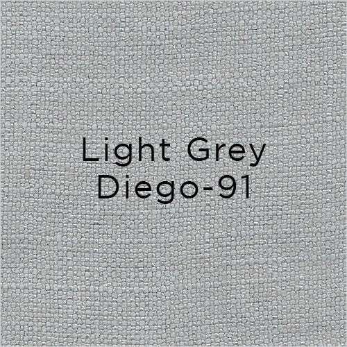 light grey fabric swatch