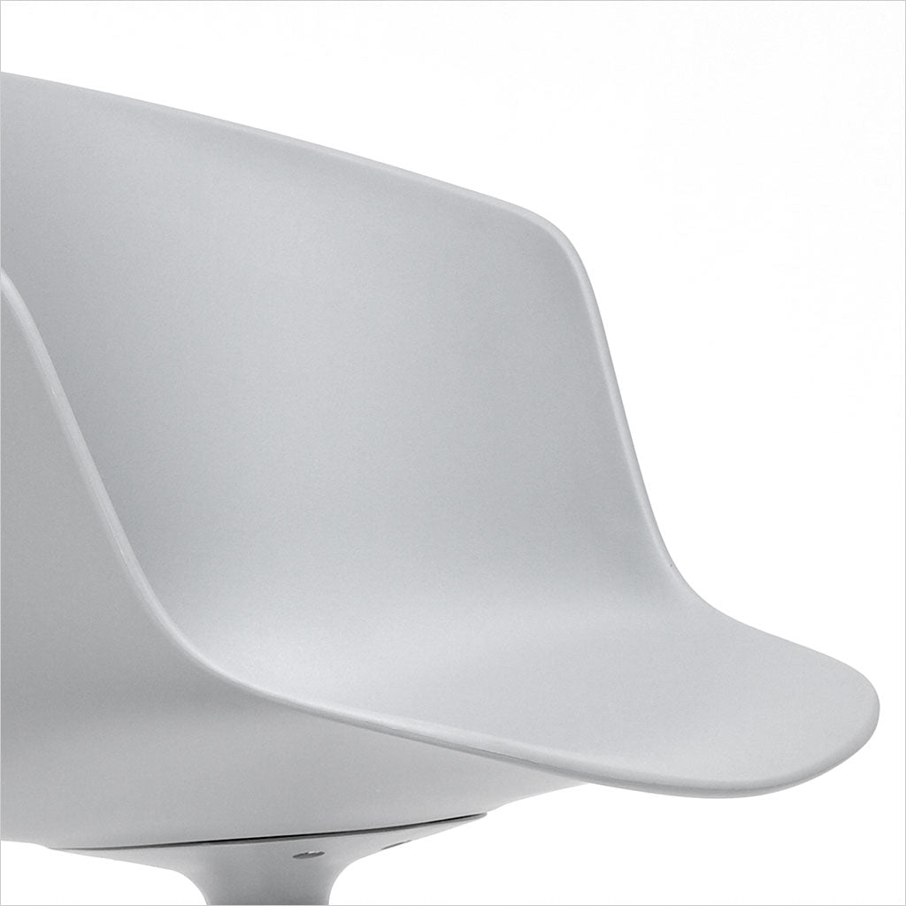 dining chair with molded seat