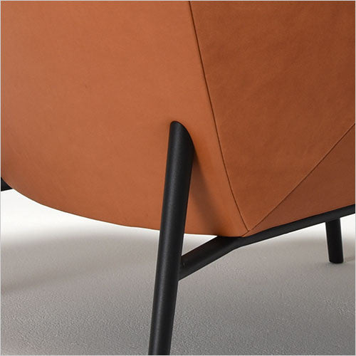 accent chair with black legs