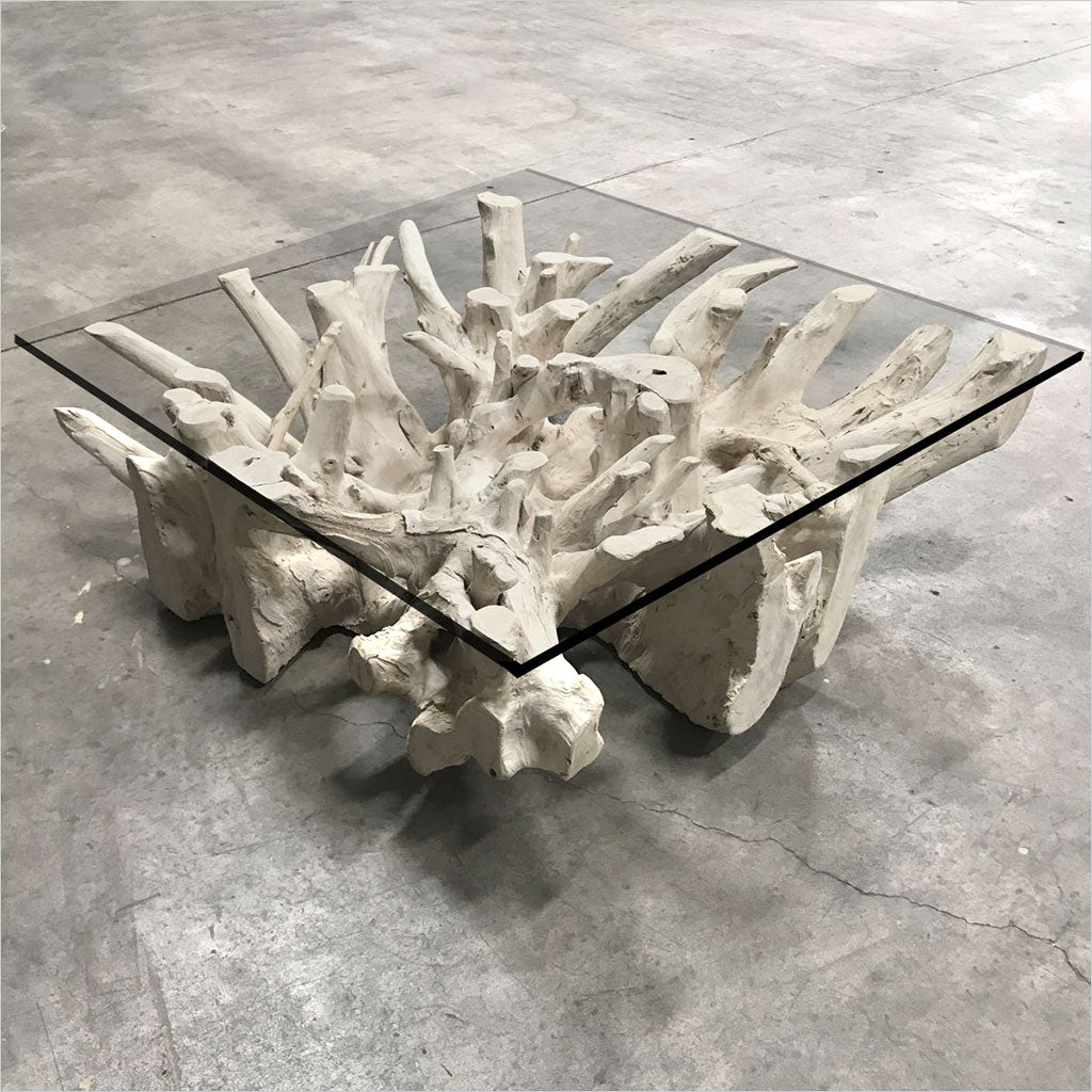 root coffee table base