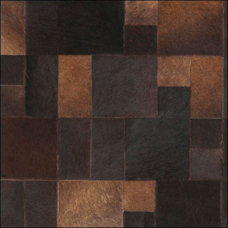 leather area rug