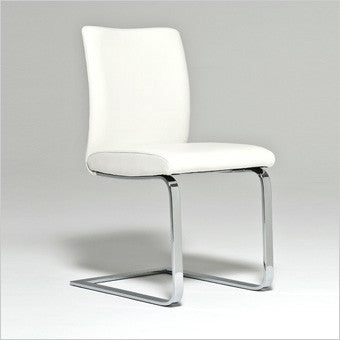 Alessia Dining Chair; Leather Dining Chair ...