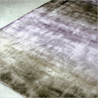 lilac loom knotted area rug
