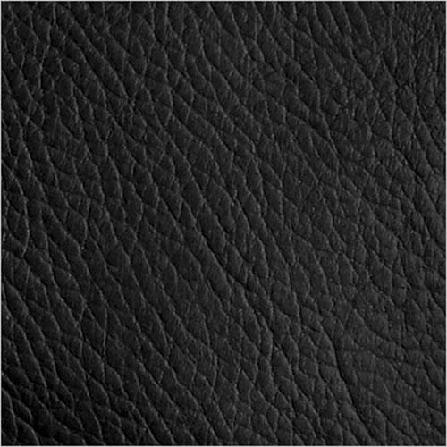 black leather-textile swatch