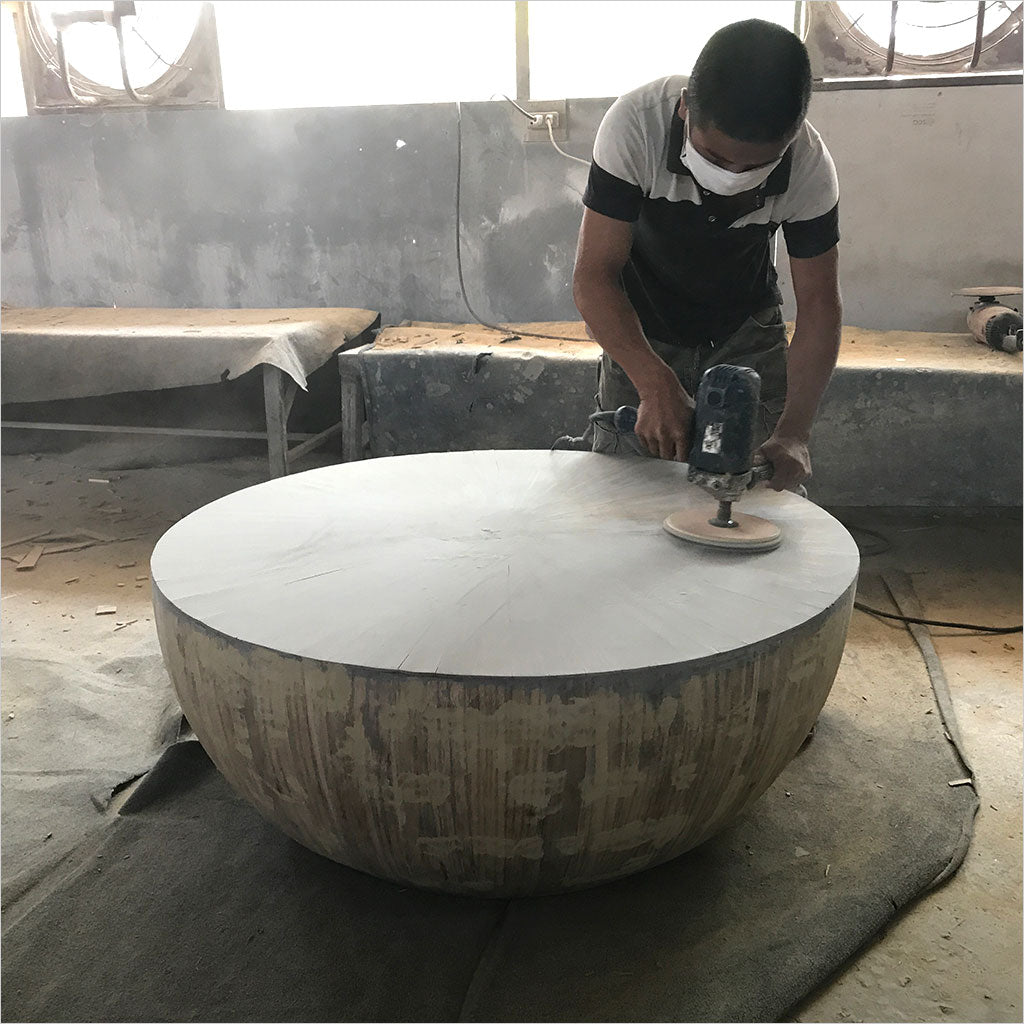 bamboo furniture in production