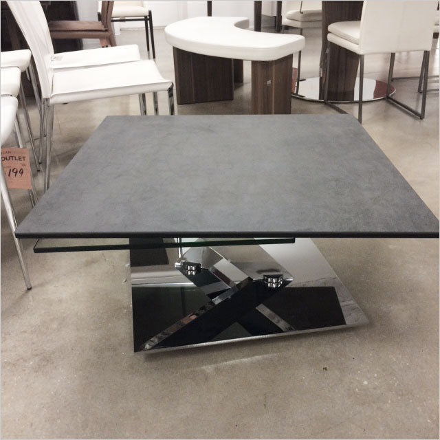 coffee table with adjustable tops