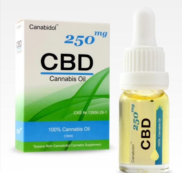 Canabidol 250mg 10ml CBD oil