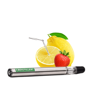 CBDistillery 200mg vape pen Strawberry Lemonade flavour
