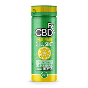 CBD+fx Chill Shot Lemonade 20mg 60ml