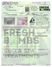 Load image into Gallery viewer, Fresh Bombs CBD Bath Soak 100mg Pain Reliever Epsom Salts 10oz
