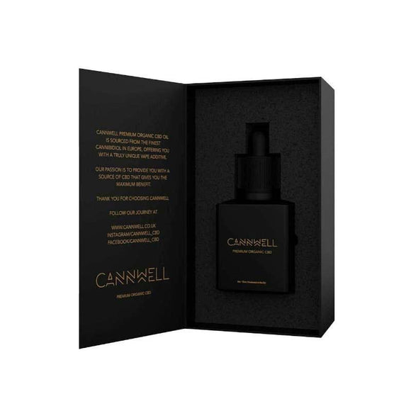 Cannwell Premium Organic CBD 200mg 30ml.