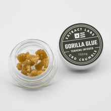 Load image into Gallery viewer, Extract Labs G-Rilla CBD Crumble 750mg CBD 100mg CBG