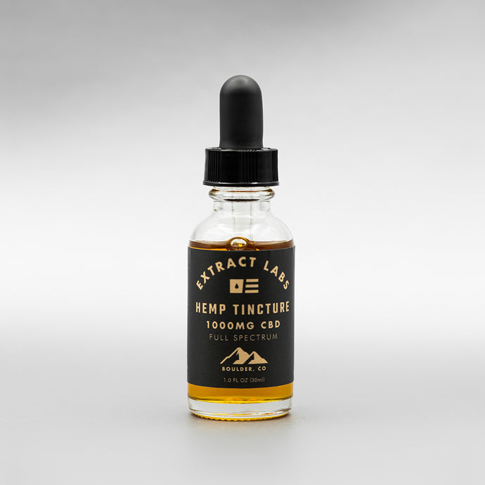 Extract Labs 1000mg 30ml Original Flavour Tincture