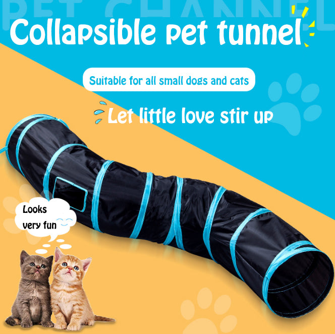 Cat tunnel Cat nest toy