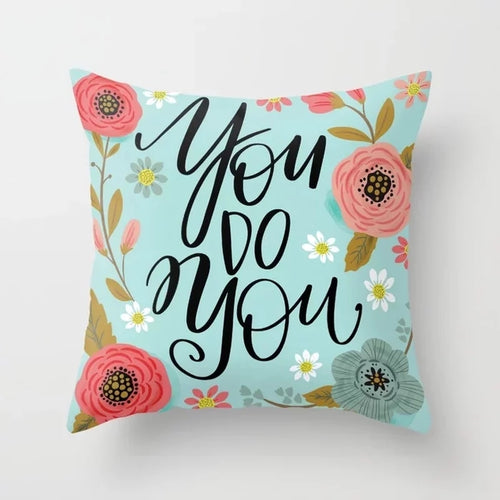 Swear words Cushion Cover-  You do You