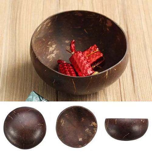 Eco- Friendly  Natural Coconut Shell Bowl