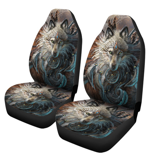 Wolf Warrior Car Seat covers
