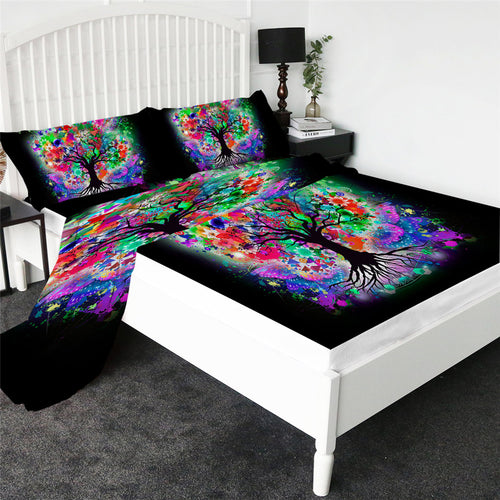 Tree of Life Bed Sheet set