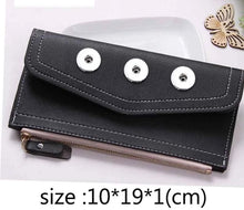 Load image into Gallery viewer, Snap Purse- PU Leather Wallet
