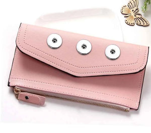 Snap Purse- PU Leather Wallet