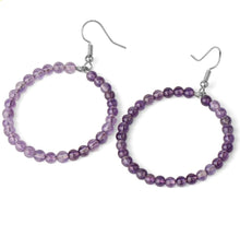 Load image into Gallery viewer, Amethyst Gemstone Earrings