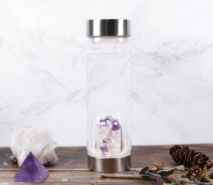 Mixed Crystal Drinking Bottle- 500ml