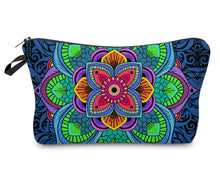 Load image into Gallery viewer, Cosmetic Bag- Flowers