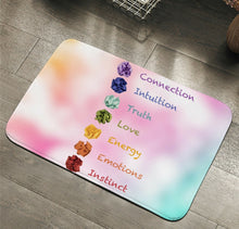 Load image into Gallery viewer, Seven Chakra Floor Mat