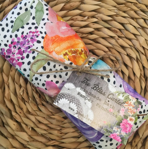 Spotty Floral Lavender Eye Pillow