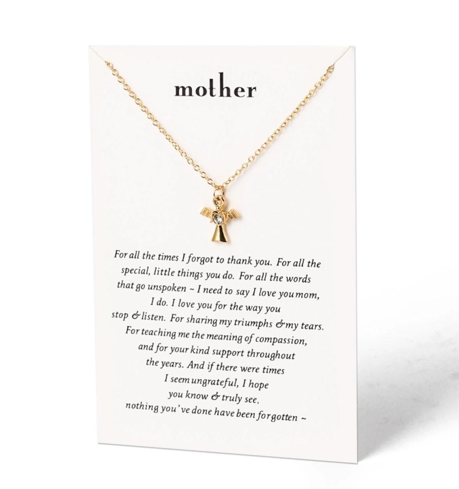 Mother Card & Necklace