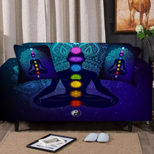 Load image into Gallery viewer, Chakra Balance Sofa Cover Set