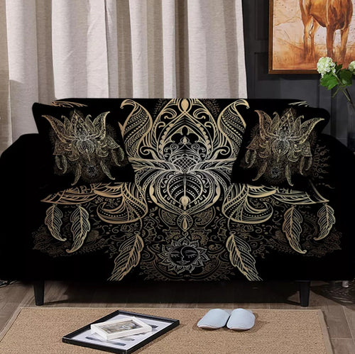 Feathers Sofa Cover Set